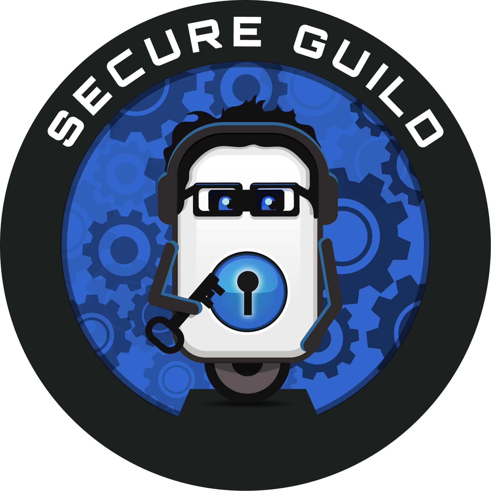 Round Secure Guild Logo